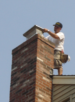 Repaired Chimney with Cap - Call All Sweep Chimney Service - Springfield Missouri - 417-888-0281