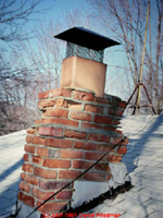 Damaged Chimney - Call All Sweep Chimney Service - Springfield Missouri - 417-888-0281